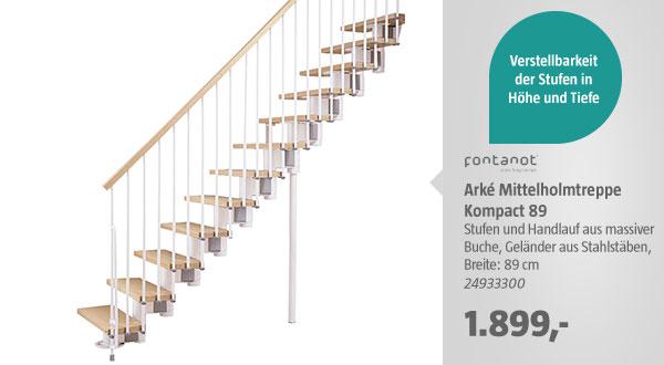 Arké Mittelholmtreppe Kompact 89