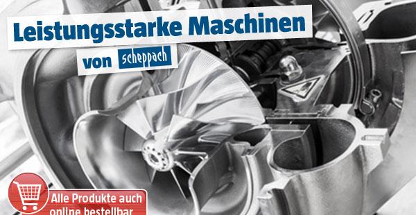 Maschinen Scheppach
