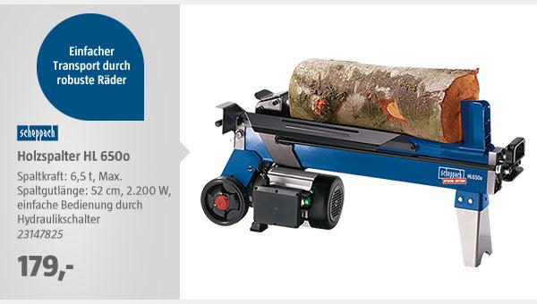 Scheppach Holzspalter HL 650o