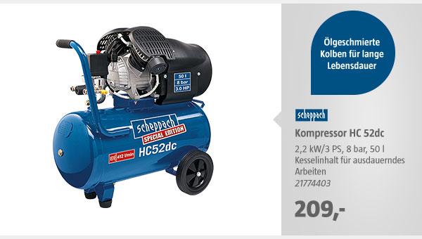 Scheppach Kompressor HC 52dc
