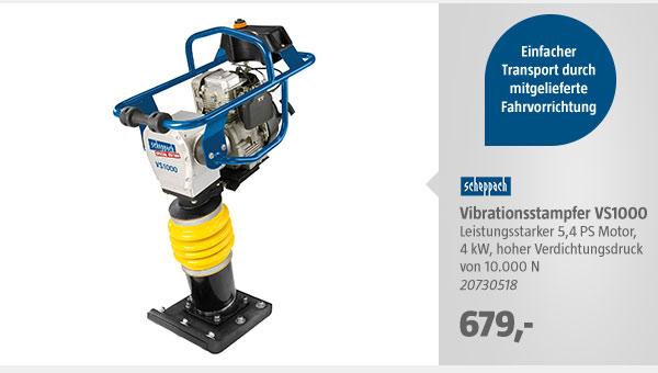 Scheppach Vibrationsstampfer VS1000