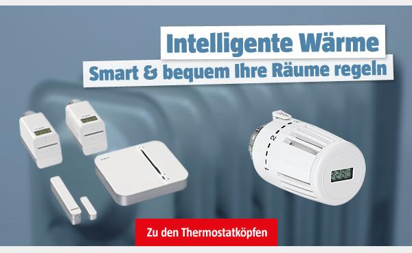 Intelligente Wärme Smart und bequem Ihre Räume regeln