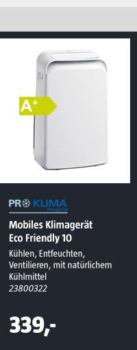 Mobiles Klimagerät Eco Friendly 10